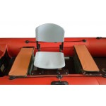 Кресло поворотное + опора (пластик)