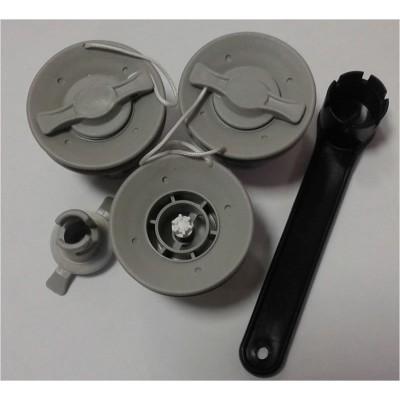 Ремкомплект для замены клапанов Браво 2001 (3 клапана + ключ)