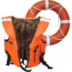 Спасательные жилеты, средства спасения