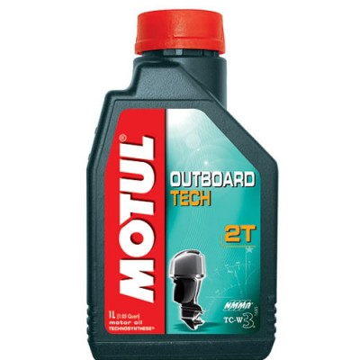 Моторное масло MOTUL Outboard Tech 2T Technosynt