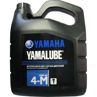 Моторное масло YAMALUBE 4M SAE10W-40API SJ/CF для 4-х тактных двигателей