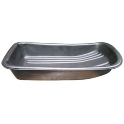 Сани рыбацкие (пласт. корыто) №10 890х465х165 черный