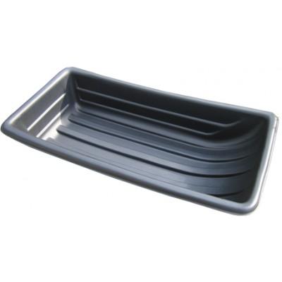 Сани рыбацкие (пласт. корыто) №11 1100х540х230 черный
