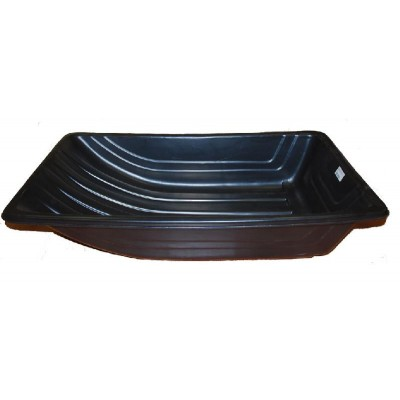 Сани рыбацкие (пласт. корыто) № 4/2 1020х620х220 черный
