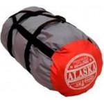 Спальный мешок с капюшоном ALASKA серый/терракотовый до -5 С