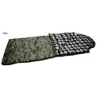Спальный мешок одеяло ALASKA кмф, лес до -25 С, ткань оксфорд